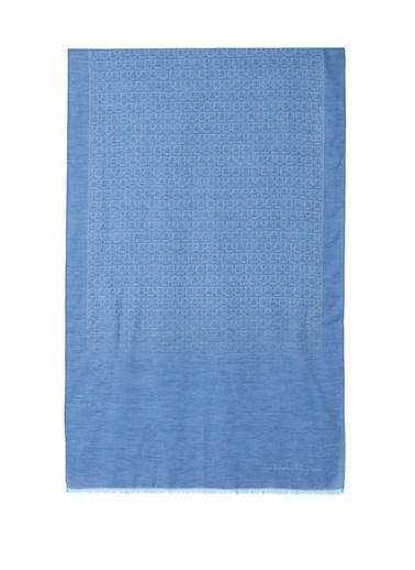 Salvatore Ferragamo Atkı Mavi